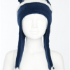 Stripey Hat (Navy)