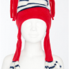 Stripey Hat (Red)
