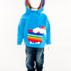 Hooded Top Sheep Rainbow (Blue)