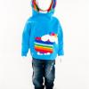Hooded Top Sheep Rainbow (Blue)