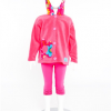 Funky Hooded Daisy Jacket (Pink)