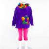 Funky Hooded Top (Purple)