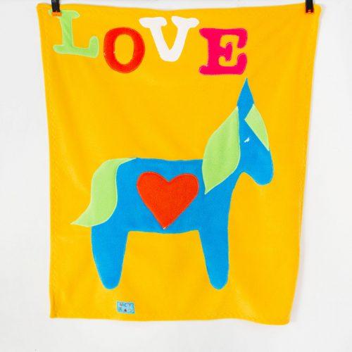 Yellow Horse Baby Wrap