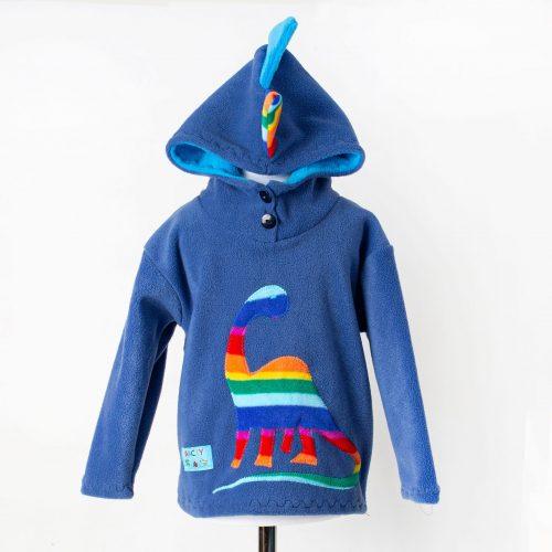 Children's Dinosaur Hooded Top