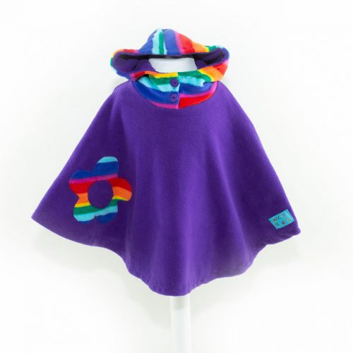 Children's Purple Funky Poncho